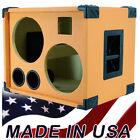 2X10 Bass Guitar Speaker Cabinet Empty, Orange Tolex BG2X10HT