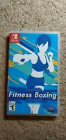 Fitness Boxing 1 complete in box Nintendo Switch CIB