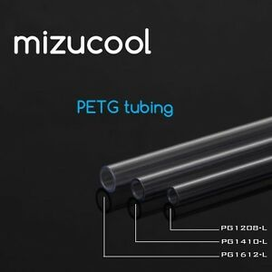 Mizucool 5 x PETG Tube 500mm Tube Size 12mm OD - 8mm ID For Water Cooling