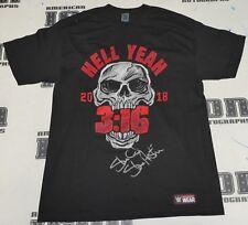 Stone Cold Steve Austin Signed WWE Hell Yeah 3:16 Shirt BAS Beckett COA Auto'd