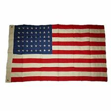 More details for ww2 us flag 48 stars american repro  100% cotton