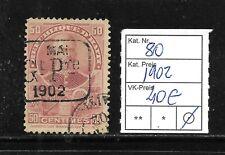 (57028) HAITI CLASSIC STAMPS #80 1902, USED   CAT.VL+ 40,00€