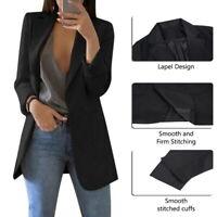 Women Lady Syilish Slim Casual Business Blazer Suit Jacket Coat Outwear Tops HOT