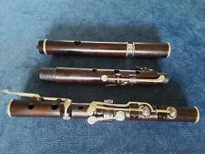 Antique Vintage Old Wooden Cocus 8 Key Irish Flute By D'Almaine London