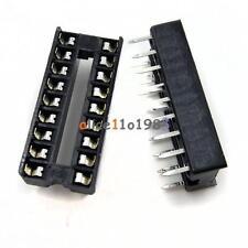 50Pcs Socket Pcb Mount Connector Dip 18-Pin Dil Diy Develope New
