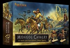 Fireforge Games -  Mongol Cavalry 28mm Mounted Plastic Wargaming Deus Vult