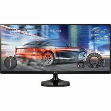 "LG 34UM58-P 34"" 21:9 UltraWide FHD HDMI IPS LED Screen Split Computer Monitor"