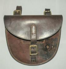 Antique Military Horse Shoe Carrier Saddle Bag 'M.Harvey & Co, WALSALL, G&M1906'