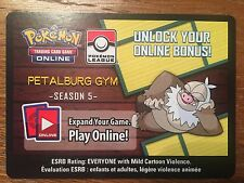 Rare Pokemon TCG Online Slaking Petalburg Gym - Season 5 Code Card