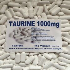 Taurine 1000 mg 30 Tabletten