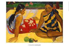 Paul Gauguin PARAU API 1892 poster immagine stampa d'arte 70x100cm SPEDIZIONE GRATUITA
