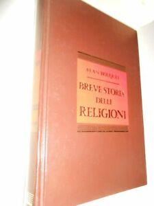 BREVE STORIA DELLE RELIGIONI - ALAN BOUQUET - A.MONDADORI