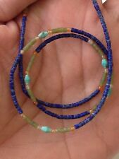 Lapis Lazuli With Mixed Crystals Beads Necklace (15.5ct)