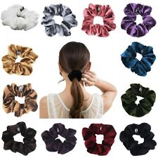 1pc Nice Scrunchies Velvet Ponytail Holder Hair Accessories Available 14colors