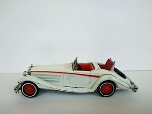 Vintage MATCHBOX Models of Yesteryear Toy Mercedes Benz 540K 1937, England 1979