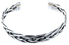 Bracelet Bangle 925 Sterling Silver Braided Pattern Knot Design Braided No. 1