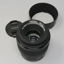 Sony SEL 50mm f/1.8 FE Lens E-Mount - Black (SEL50F18F)