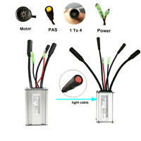 KT 48V 36V 15A Controller 250W 350W Brushless E-bike Electric Bicycle light MTB