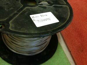 +/-350' (11lb 10oz) - GENERAL CABLE WIRE 7056898 1P/22G SHIELDED CO PVC GRAY *be