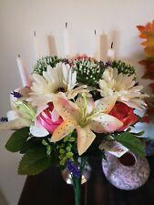 Artificial flowers bouquet peony lily gerbera 49cm