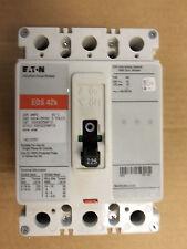 EATON EDS 42K EDS3225 3 POLE 225 AMP 240V CIRCUIT BREAKER RED EDS3225BP10