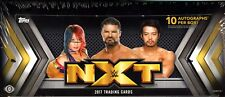 2017 TOPPS WWE NXT WRESTLING HOBBY BOX FACTORY SEALED NEW