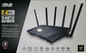 ASUS RT-AC3200 TRI-BAND DUAL 5GHz + 2.4GHz WIRELESS GIGABIT ROUTER