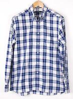 GANT Herren Lang Island Oxford Regular Fit Freizeit Formell Hemd Größe M BCZ638