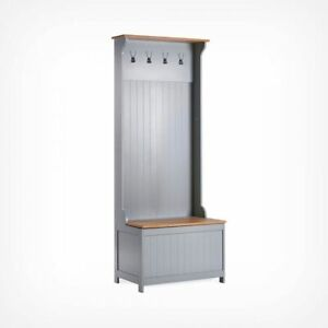 Hall Valet with Storage Trunk