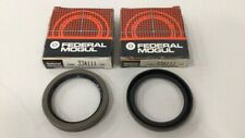 National 334111 Wheel Seal Oil Seal (Pack of 2)