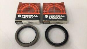 National 334111 Wheel Seal Oil Seal (Pack of 2)