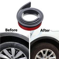 2 X Carbon Fiber Color 5.5cm/1.5M Widening Car Wheel Eyebrow Trim Protector Lips
