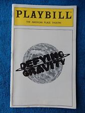 Defying Gravity - American Place Theatre Playbill - October 1997 - Hoffman
