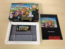 Super Mario Kart Complete Super Nintendo CIB SNES Game Luigi Yoshi Donkey Kong