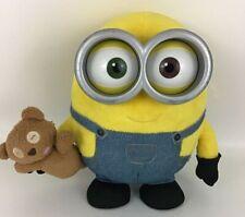 Despicable Me Minions Bob Blushing Light Up Talking Plush Stuffed Toy Teddy Bear