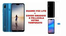 PROMO!! SMARTPHONE HUAWEI P20 LITE BLU 64 GB + COVER E PELLICOLA GRATIS PER TE