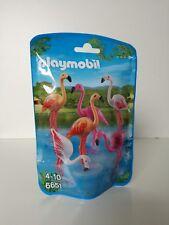 Playmobil 6651 - Animal series: Flamingo family (MISB, NRFB, OVP)