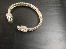 Oriental antique Tête de Dragon Bracelet/Bangle