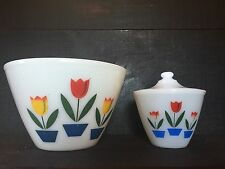 Fire King Tulip Bowls