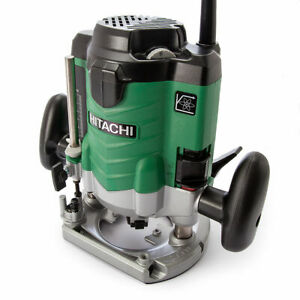 """Hikoki M12VE Heavy Duty Router   1/2"""" & 1/4"""" with Accessories - CHOOSE VOLTAGE"""