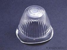 VW Bug Turn Signal Lens - 1955 to 1957 - Clear Hella
