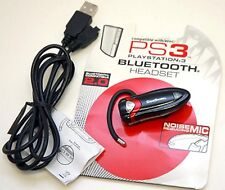 PS3 Game Shark Playstation-3 Wireless BLUETOOTH 2.0 HEADSET gaming USB Charging