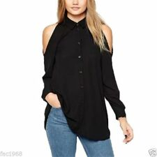 Camisa de mujer de manga larga de chifón