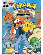Anime Pokemon Season 2 Adventure In The Orange Island Complete ENGLISH Box Set