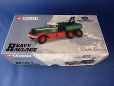 1/50 CORGI - Edition limitée ref 55603 - CADZOW Heavy Haulage Diamond T Wrecker