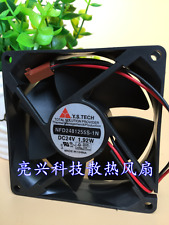 1 pcs Y.S.TECH Fan NFD2481255S-1N DC  24V 1.92W 8CM 8025  2 Pin