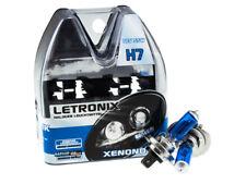 Letronix h7 12v 55w alogena 8500k xenon ultra white LED Ottica certificazione e 10