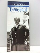 Disneyland Park Diamond Celebration Guide Map Special Edition 60th Anniversary