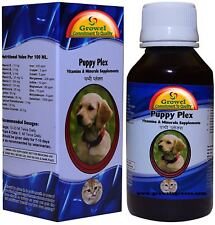 Puppy Plex - Vitamins & Minerals Supplements Of 21 Compositions For Dogs & Puppy