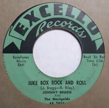JOHNNY BRAGG & MARIGOLDS Juke Box Rock And Roll / ROCKABILLY 45